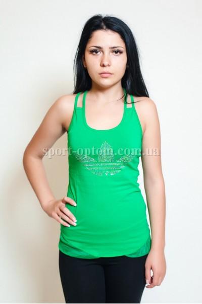 Женский спортивные футболки adidas 7106 - 1