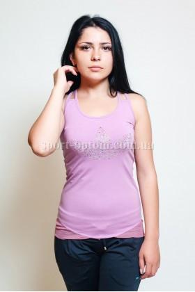 Женский спортивные футболки adidas 7106 - 5