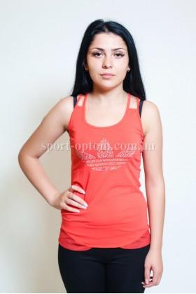 Женский спортивные футболки adidas 7106 - 4